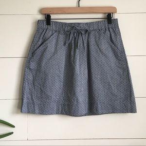 Skirt Cotton skirt With pockets Midi Skirt
